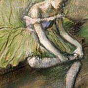 La Jupe Verte Print by Edgar Degas