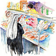 La Laguna Market 03 Art Print