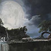 La Luna Bianca Art Print