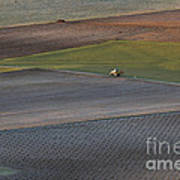 La Mancha Landscape - Spain Series-siete Art Print
