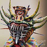 La Mascarada Art Print
