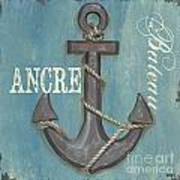 La Mer Ancre Art Print