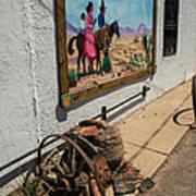 La Mesilla Outdoor Mural Art Print