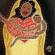 La Negrita Art Print