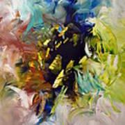 La Palette Enchantee Art Print