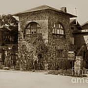 La Playa Carmel And Located At Camino Real At Eighth Ave. Circa  1925 Art Print