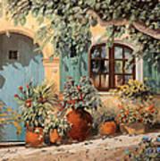 La Porta Azzurra Art Print