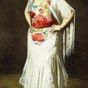 La Reina Mora Art Print