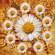 La Ronde Des Marguerites 0101a Art Print