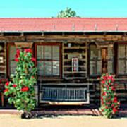 La Rosa Motel Pioneer Town Art Print