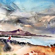 La Santa In Lanzarote 02 Art Print