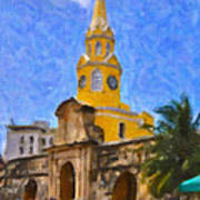 La Torre Del Reloj Art Print