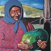 La Vendeuse De Melon Art Print