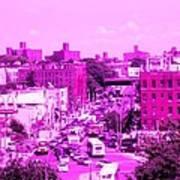 La Vie En Rose Le Bronx Art Print