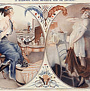 La Vie Parisienne 1922 1920s France Leo Art Print by The Advertising Archives