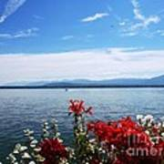 Lac Leman - Switzerland Art Print