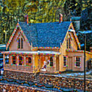 Lace House Blackhawk  Colorado Art Print
