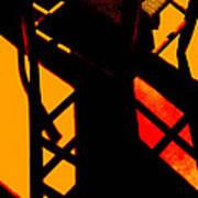 Ladderback Flamenco Art Print