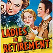 Ladies In Retirement, Us Poster, Ida Art Print