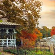 Ladies Pavilion In Autumn Art Print