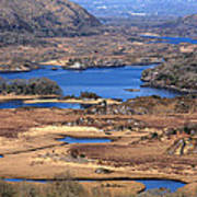 Ladies View Killarney National Park Art Print
