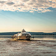 Ladoga Lake Transfer Art Print