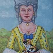 Lady Abigail Art Print