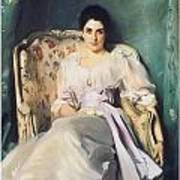 Lady Agnew Of Lochnaw Art Print by John Singer Sargent