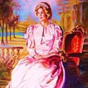 Lady Diana Our Princess Art Print