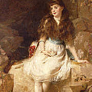 Lady Edith Amelia Ward Daughter Of The First Earl Of Dudley Art Print