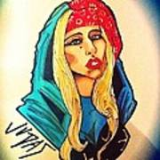 Lady Gaga Judas Art Print