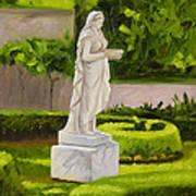 Lady Gandes Garden Art Print