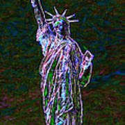 Lady Liberty 20130115 Art Print by Wingsdomain Art and Photography