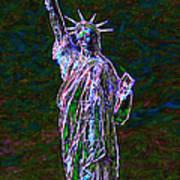 Lady Liberty 20130115 Art Print