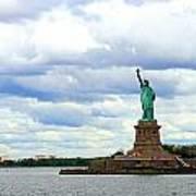 Lady Liberty B Art Print