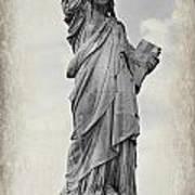 Lady Liberty No 6 Art Print