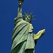 Lady Liberty Replica Art Print