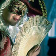 Lady Of Renaissance Art Print