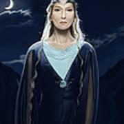 Lady Of The Galadrim Art Print
