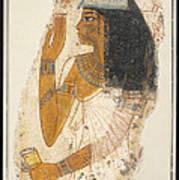 Lady Tjepu Art Print