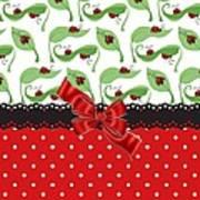 Ladybug Delight  Art Print