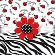 Ladybug Wild Thing Art Print
