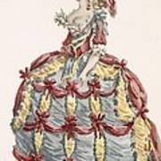 Ladys Gown For Cour A Leiquette Art Print