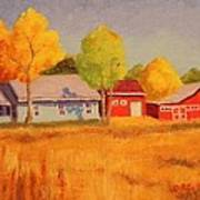 Lafayette Farm  Art Print