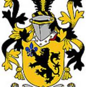 Laffan Coat Of Arms Irish Art Print