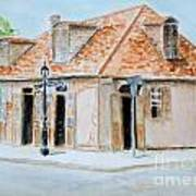 Lafitte's Blacksmith Shop Art Print by Katie Spicuzza