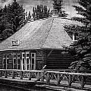Laggan Station I Art Print