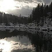 Lago Delle Streghe Art Print