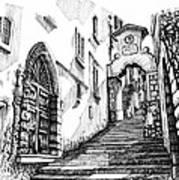 Lago Di Como-bellano Art Print