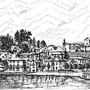 Lago Di Maggiore - Mergozzo Art Print